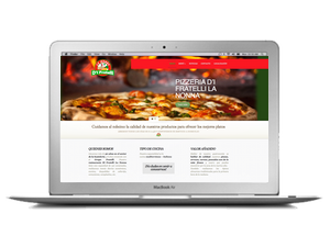 Web pizzeriadifratellillanonna